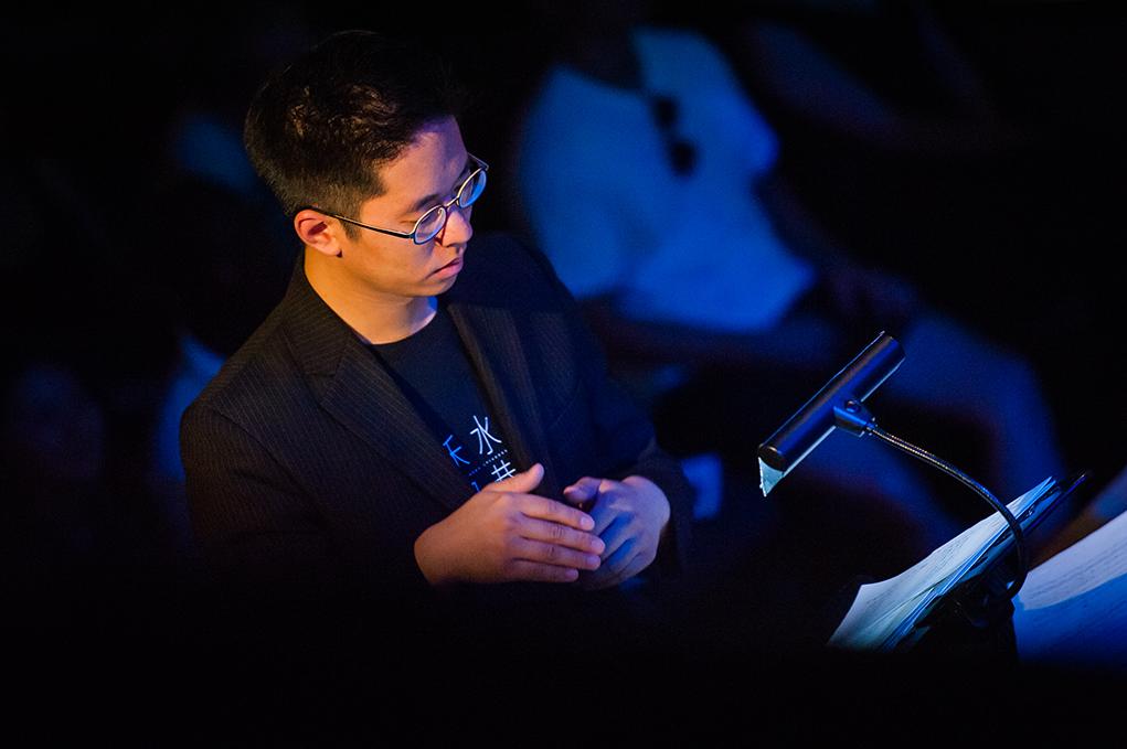 林丰作為今次節目的指揮及作曲家,盡力讓現場室樂可以與爵士樂團產生化學作用。