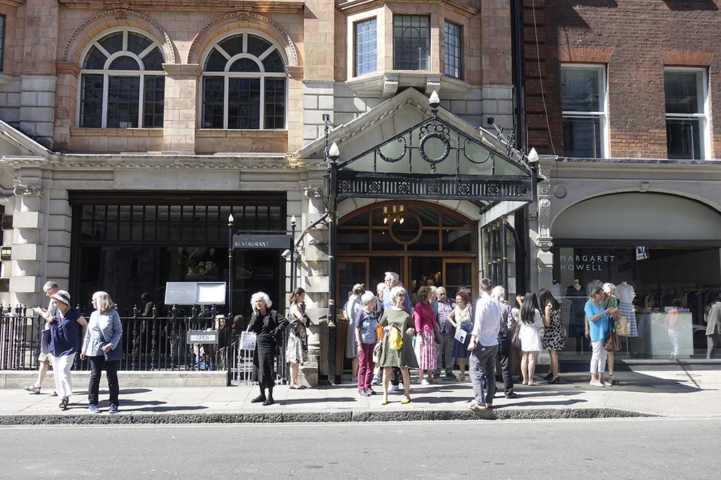 Wigmore Hall是倫敦以音響效果一流見稱的中小型表演場地。