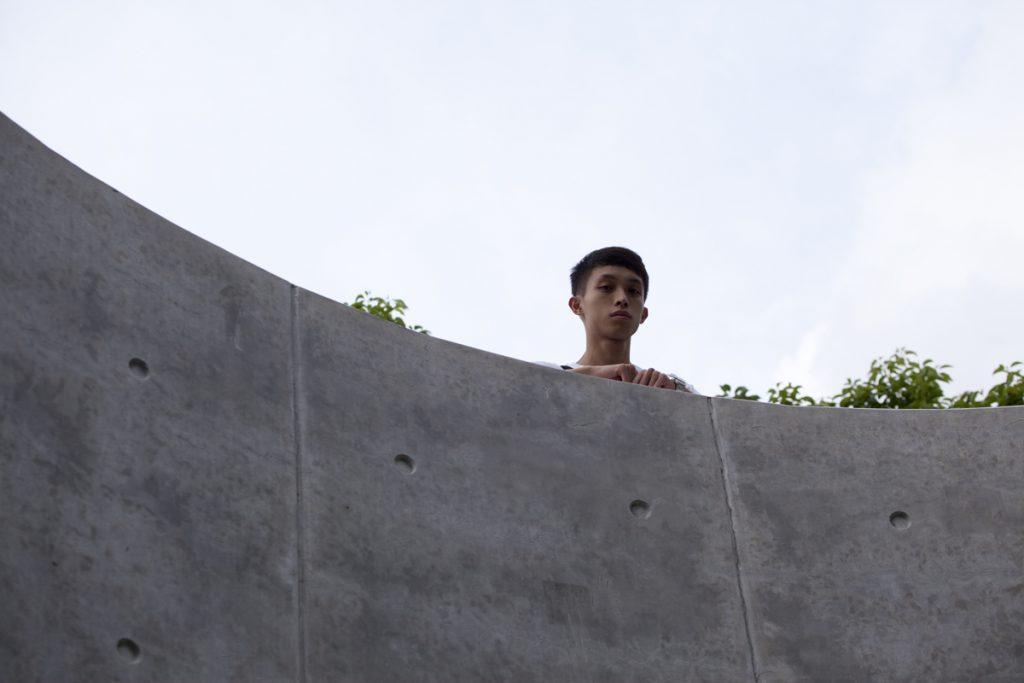 陳皓恒今年21歲,小學時已受社民連影響。