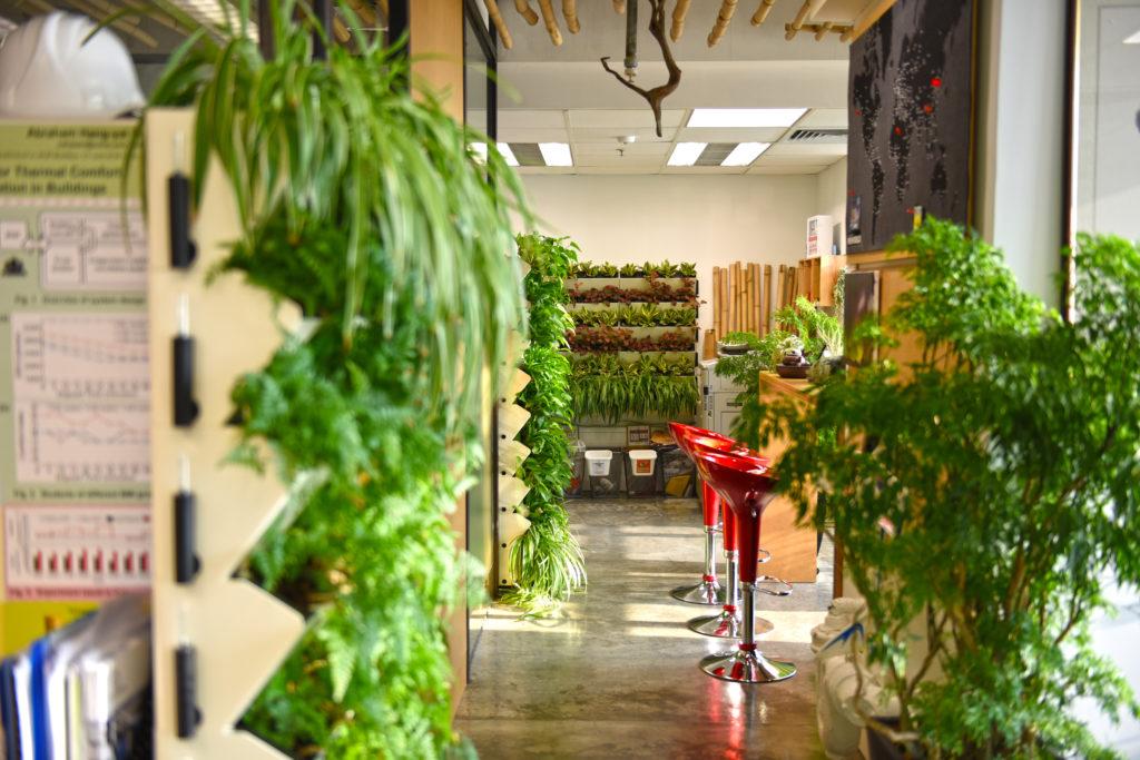 色辦公室除了要做到節約能源和保護環境,最重要其實是人,要以員工工作得舒適又開心為設計原則。