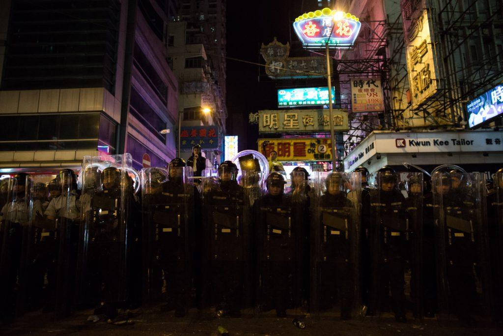 旺角騷亂,部分在場人士原被控非法集結,後來被律政司改以暴動罪起訴。
