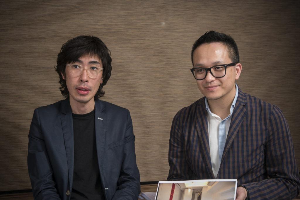 說起香港豪宅建築設計光怪陸離的現像,Lourance(左)和Tony既是憤憤不平,又是百般無奈,唯有把專業知識應用於室內設計上,助業主克服單位限制。