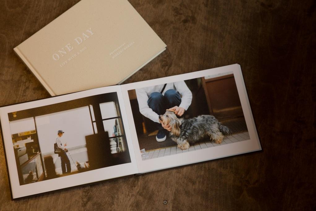 濱田英明花了三年時間,為舞蹈家、舊書店店主、料理研究家等人與其寵物狗拍攝,當中捕捉到狗狗與主人相處最自然的神態。