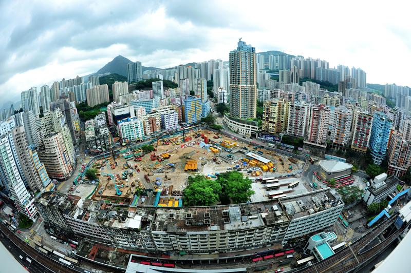 觀塘市中心重建是市建局歷來最大重建項目。