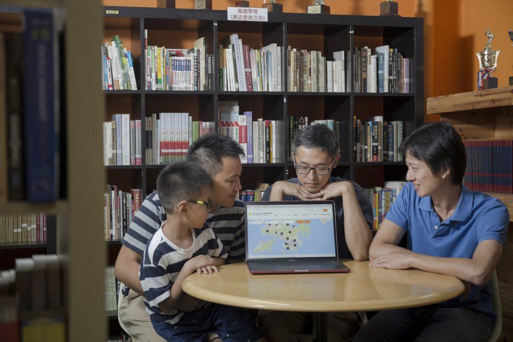 幾位爸爸期望,「我的開心學校地圖」能夠成為一個連結家長力量的平台。