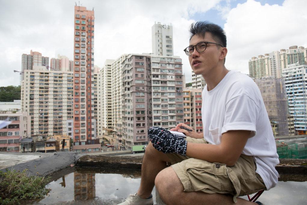 游走舊區速寫,令彭啤發現更多香港不同風景。