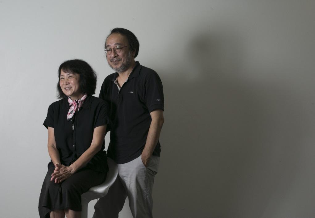 朱天心(左)與唐諾早於七十年代末與友人創辦《三三集刊》時認識,可 說是自小因文學結緣。