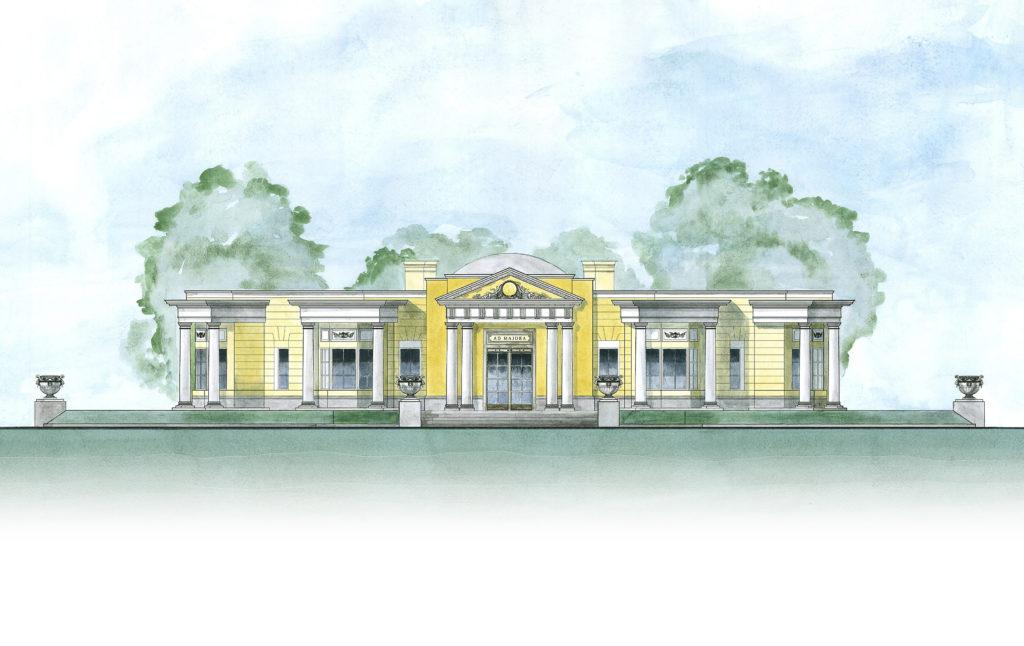 位於聖彼得堡的條約館是知名的公共建築項目,設計過程充滿挑戰。