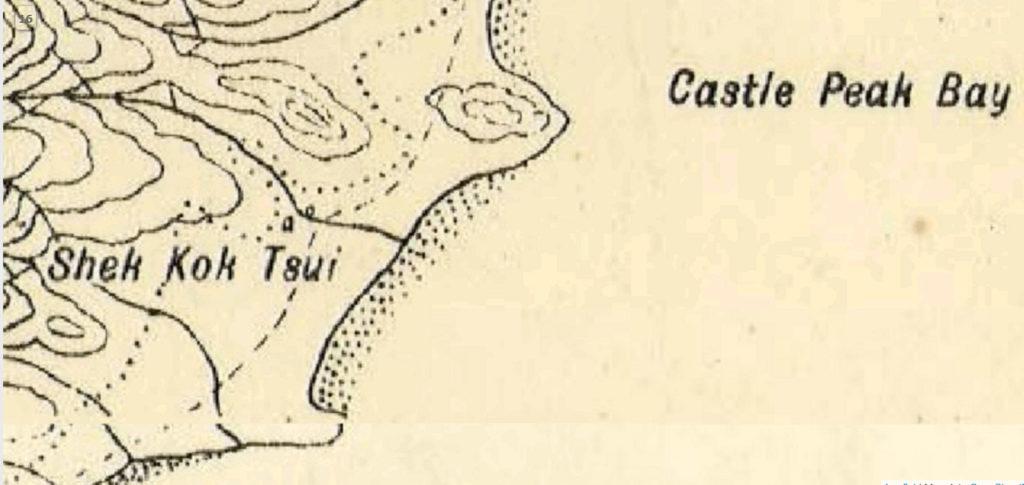 1904年版政府地圖,顯示紅樓所在位置有建築物,可是古蹟辦認為未能就此確定標示指的就是紅樓。