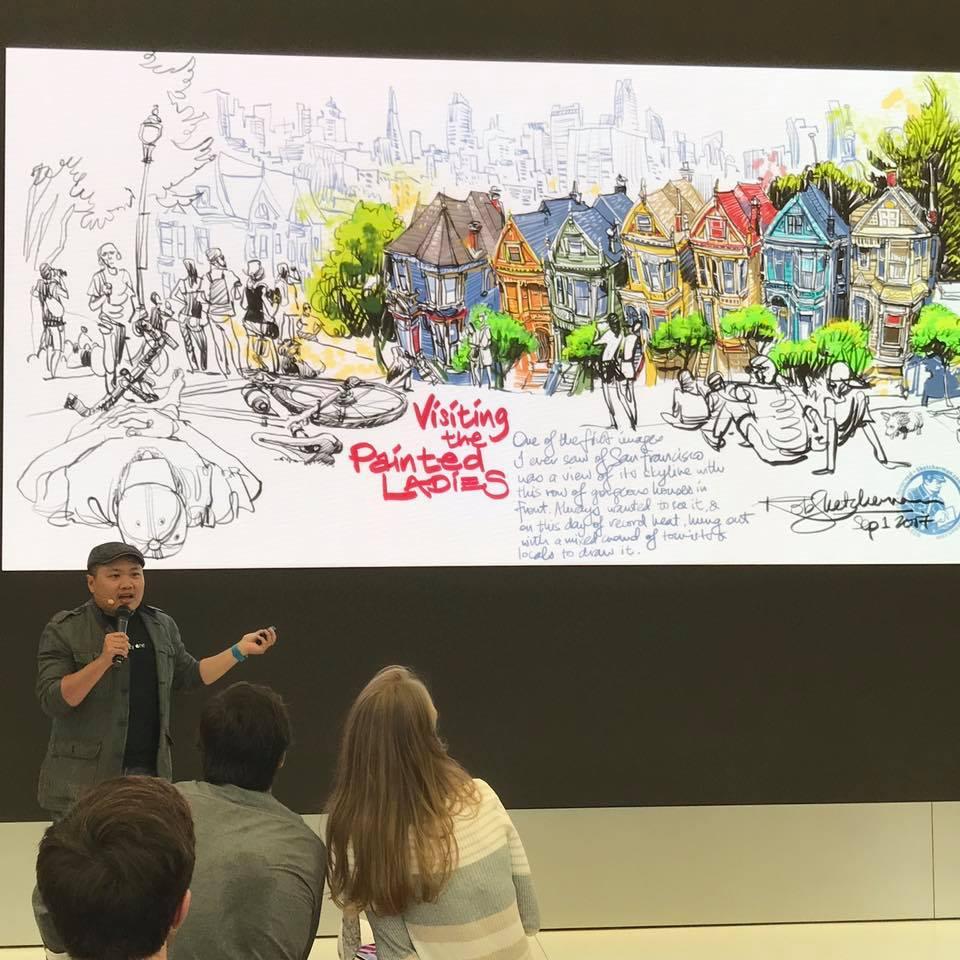 Rob不時在本港及其他國家舉辦交流會,最近更積極籌備網上工作坊,希望與大家分享數碼繪畫的技巧和心得。
