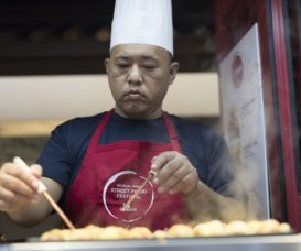 chef-yoshihiro-tanaka-from-the-bib-gourmand-awarded-kougaryu-honten-prepares-his-traditional-takoyaki-from-his-popular-street-food-stalls-in-osaka
