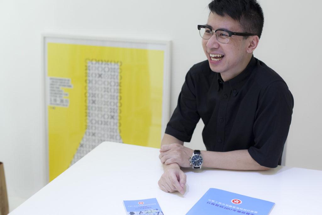 設計師 Gary Tong 認同林鄭投放不少資源在設計範疇,而且經常出席設計活動,但這份單張設計的確差強人意。