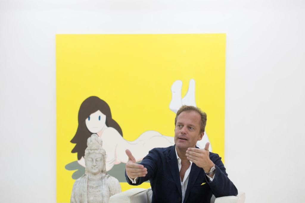Dominique的藝廊在東京與香港都有分部