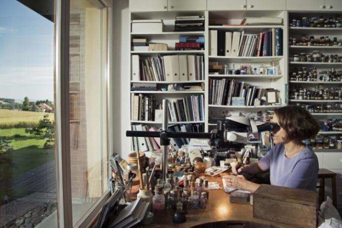 Hermès Miniature sur émail et émail cloisonné Corcelles-le-Jorat, 05 07 2017 Photo © David Marchon