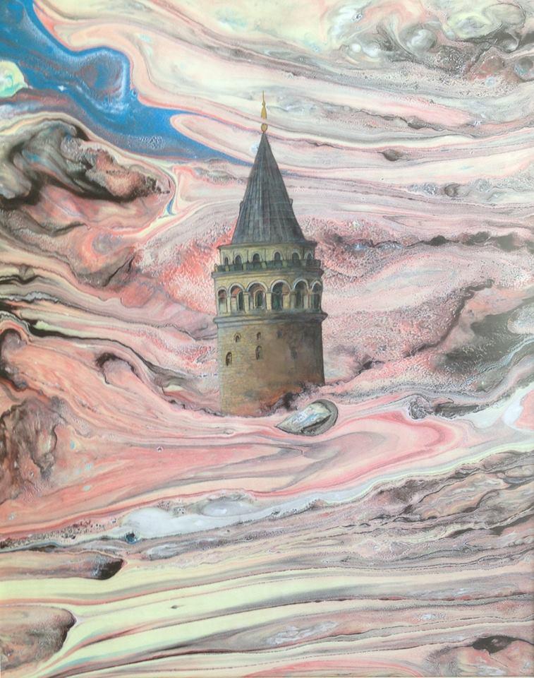 伊斯坦堡的加拉他塔(Galata Tower)