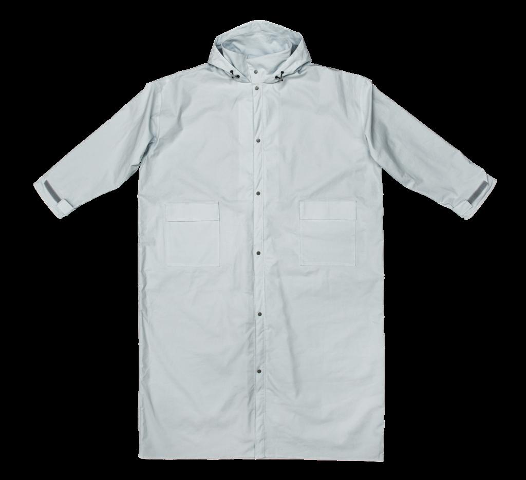 雨衣外表雖然平平無奇,卻符合了台灣騎車人士度身訂造,並不斷改良。