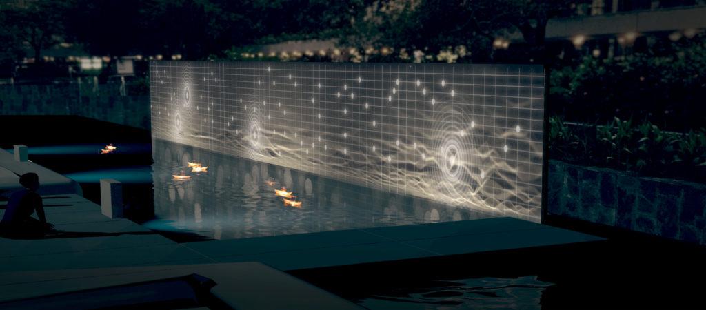 伍韶勁作品《關於海的歌》將在遮打花園展示。