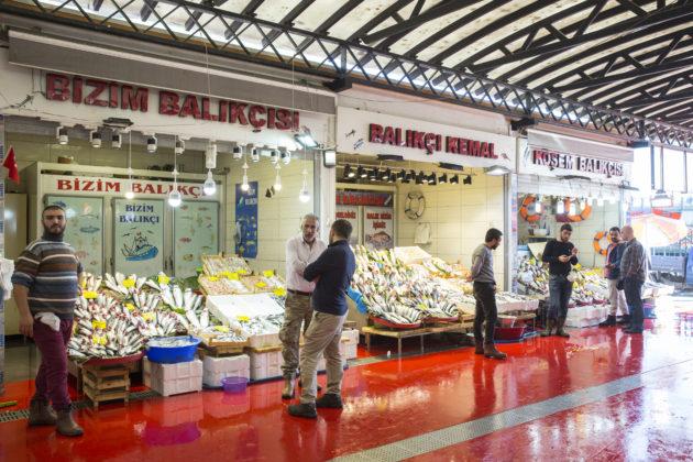 幾經變幻,魚市場的內涵仍舊一樣。