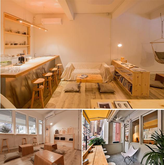 期間限定店於靜淨(Still House)舉辦,環境舒適,就是要為訪客帶來家的感覺,悠閒寫意地度假。