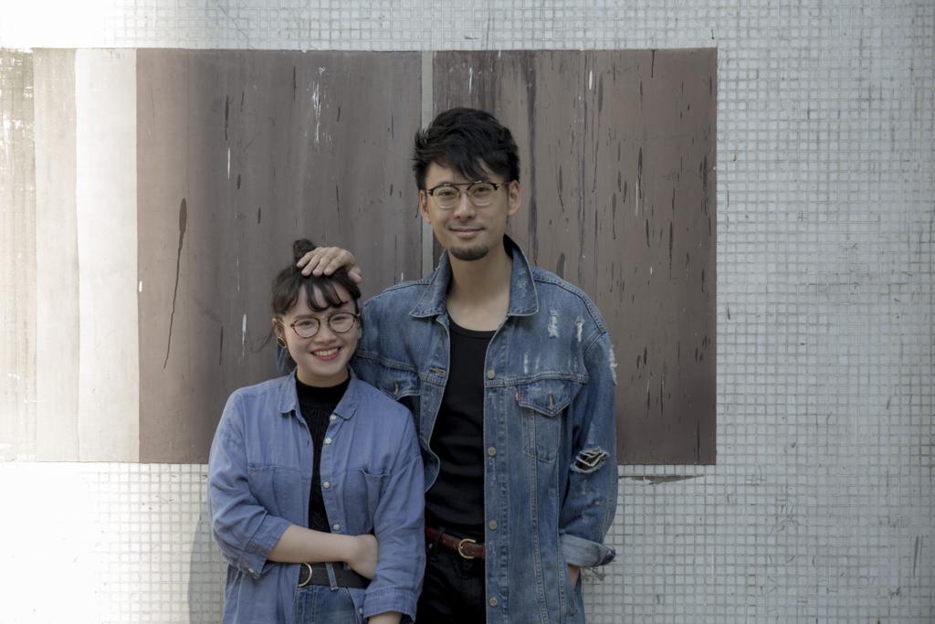周華欣(左)與黃靖(右)分別以學員及導師的身分,前往韓國Zandari Festa 音樂節演出。