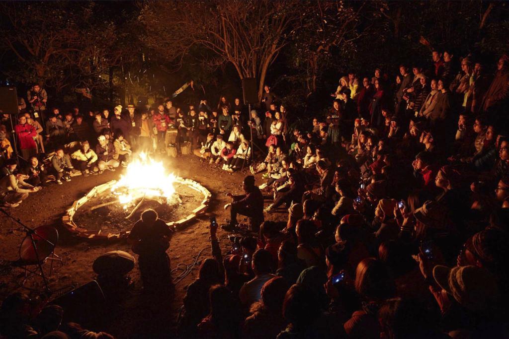 由2015年開始,營火晚會成為了《草民音樂營》的晚間主打活動。