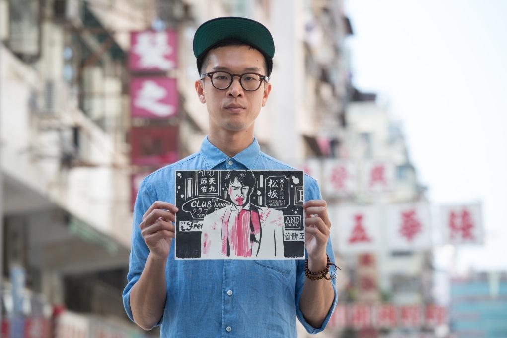 由影迷到為電影設計海報,到把經典港產片畫面重畫,獨立創作人Rex Koo與電影分不開。