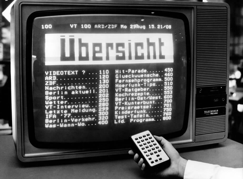 1979年,當進入電腦世紀之初,Videotext這種以簡單圖像和文字溝通的文本,成為當年展品探討的主題。