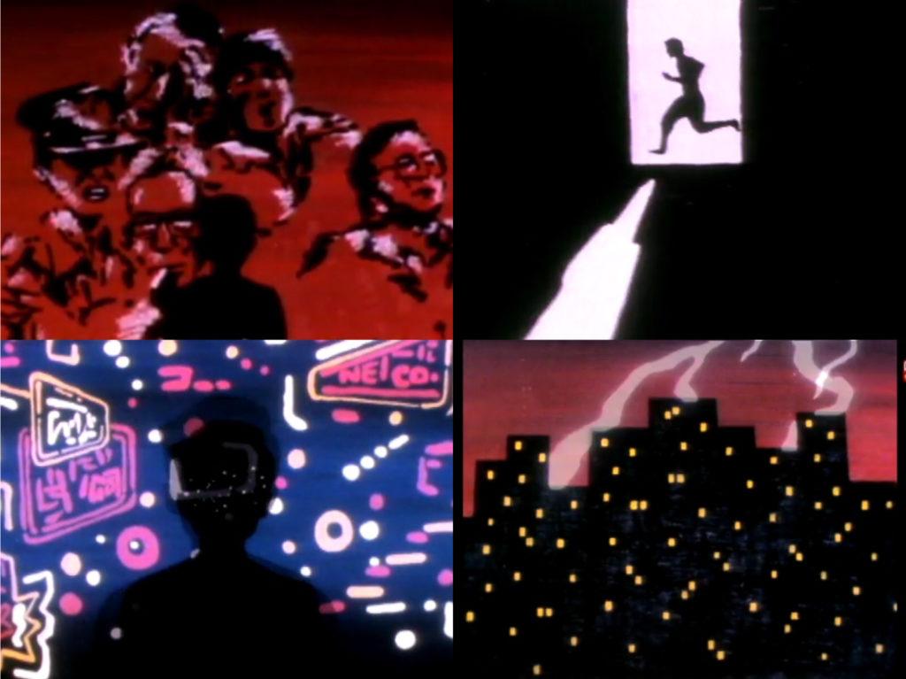 1987年,盧子英為港台劇集《暴風少年》設計動畫片頭。