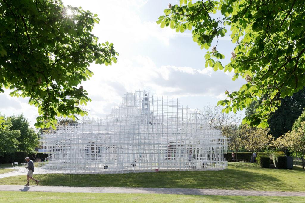 藤本壯介設計Serpentine Gallery Pavilion(圖片©IWAN BAAN)