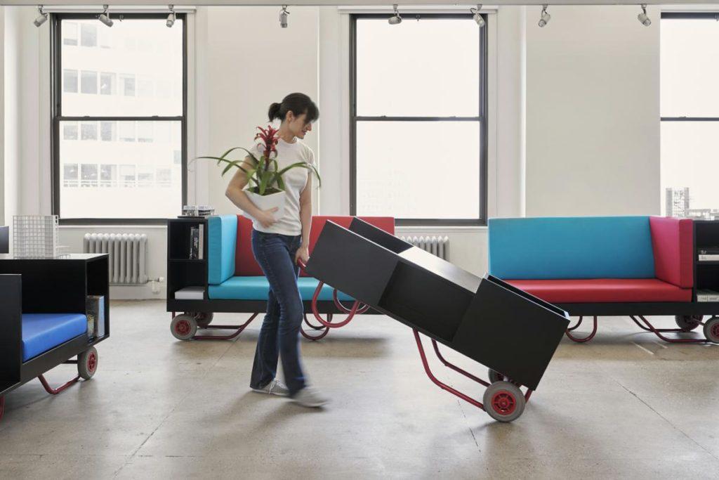 Push/Pull Furniture Series是Lim+Lu為母校設計的家具