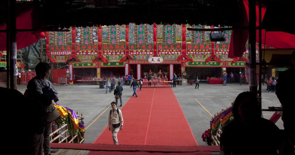 十年一度的大埔林村太平清醮,「糖姨」亦有擺檔。