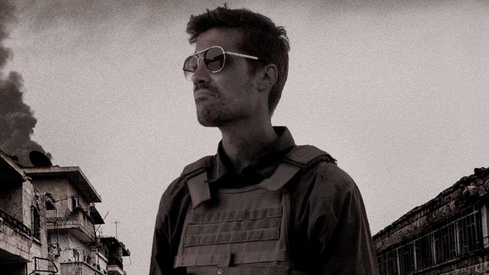 翻攝自HBO紀錄片《Jim: The James Foley Story》海報