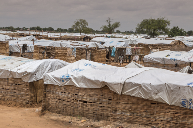 Al-Nimir camp in Sudan is home to some 5,800 South Sudanese refugees who have fled conflict and food shortages back home. ; Since December 2013, over 400,000 South Sudanese have fled to safety in neighbouring Sudan. Al-Nimir camp opened in April 2017 and by mid-August was hosting some 5,800 refugees, nearly all of them women and children from Western Bahr el Ghazal State. As worsening violence continues to force people from their homes in South Sudan, the UN High Commissioner for Refugees Filippo Grandi, visited refugees and the host community in Al-Nimir and called on warring parties, regional states and the international community to urgently establish peace. Conflict and drought have displaced nearly four million South Sudanese both inside the country and beyond its borders. Efforts to restore peace have so far proven unsuccessful.