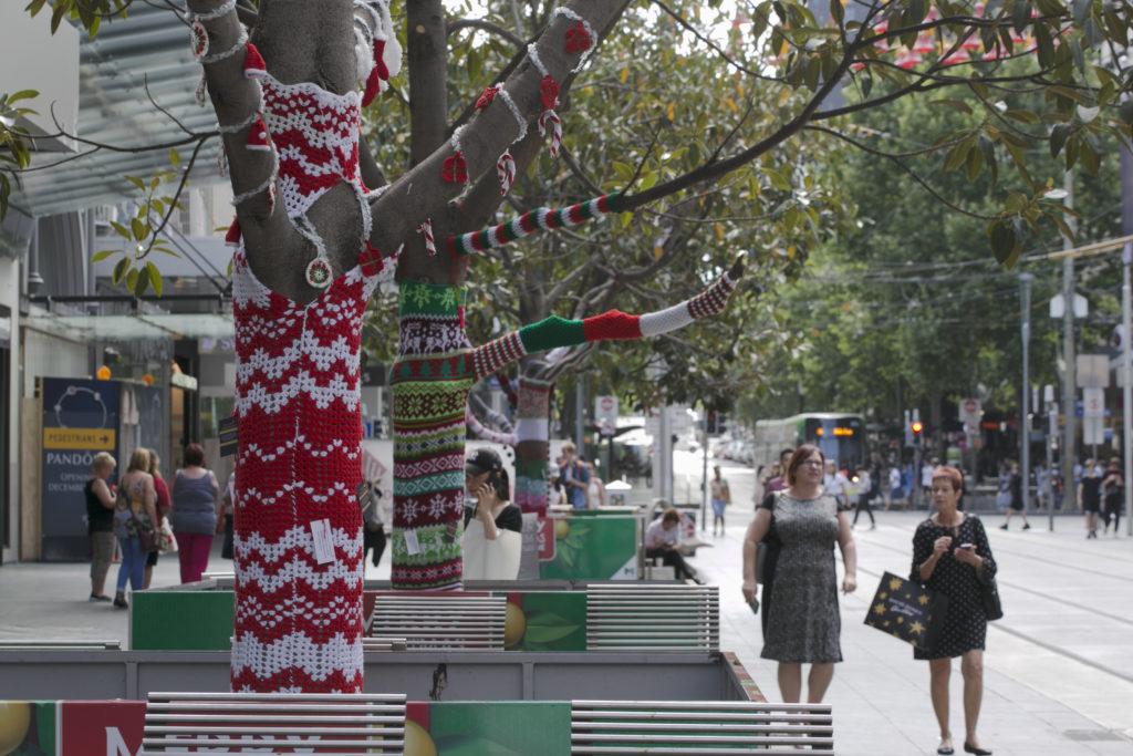誕針織裝飾在這裏不會收到好像在香港銅鑼灣出現的離奇投訴