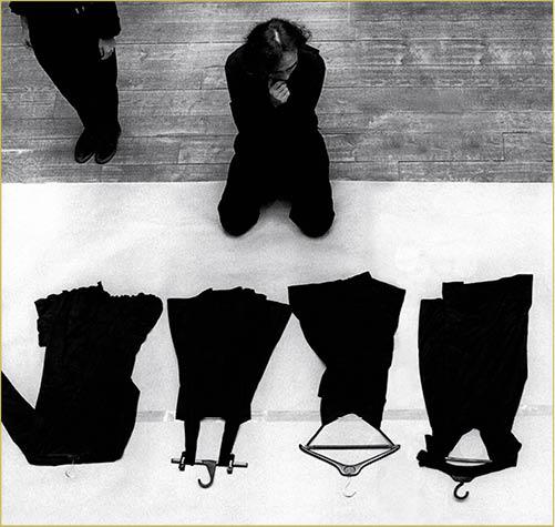 Yohji Yamamoto, Paris, 1991.