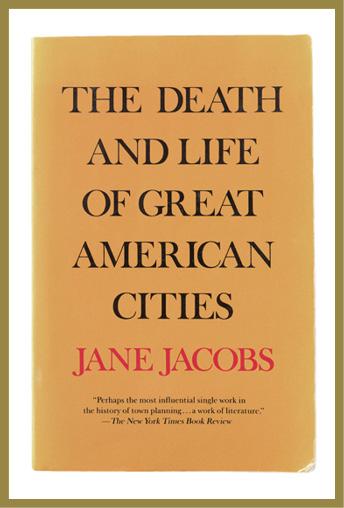 六十年代出版的《美國大城市的死與生》對城市復興和未來的討論,直至今日仍是城市研究和城市規劃中重要的作品。