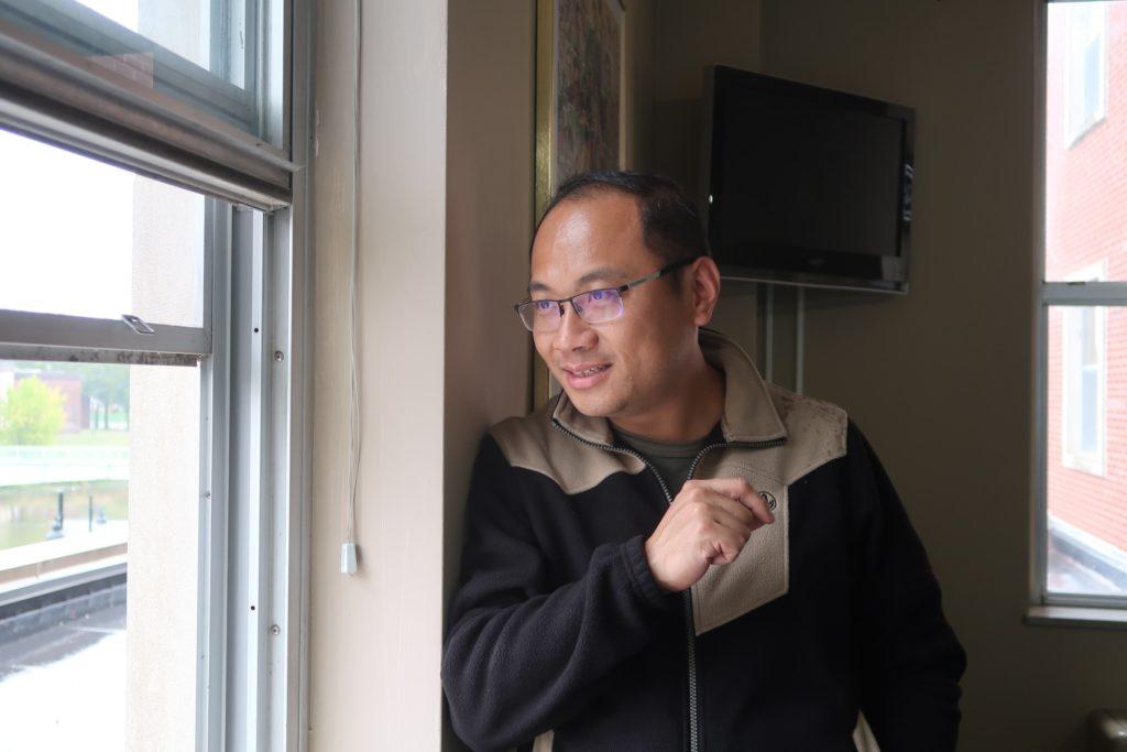 本屆參與 IWP 的香港作家劉偉成