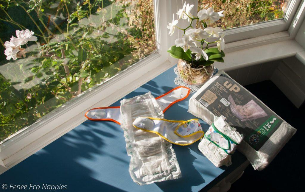 Eenee主打可降解嬰兒尿片,設計原理與沖水式衞生巾相近。