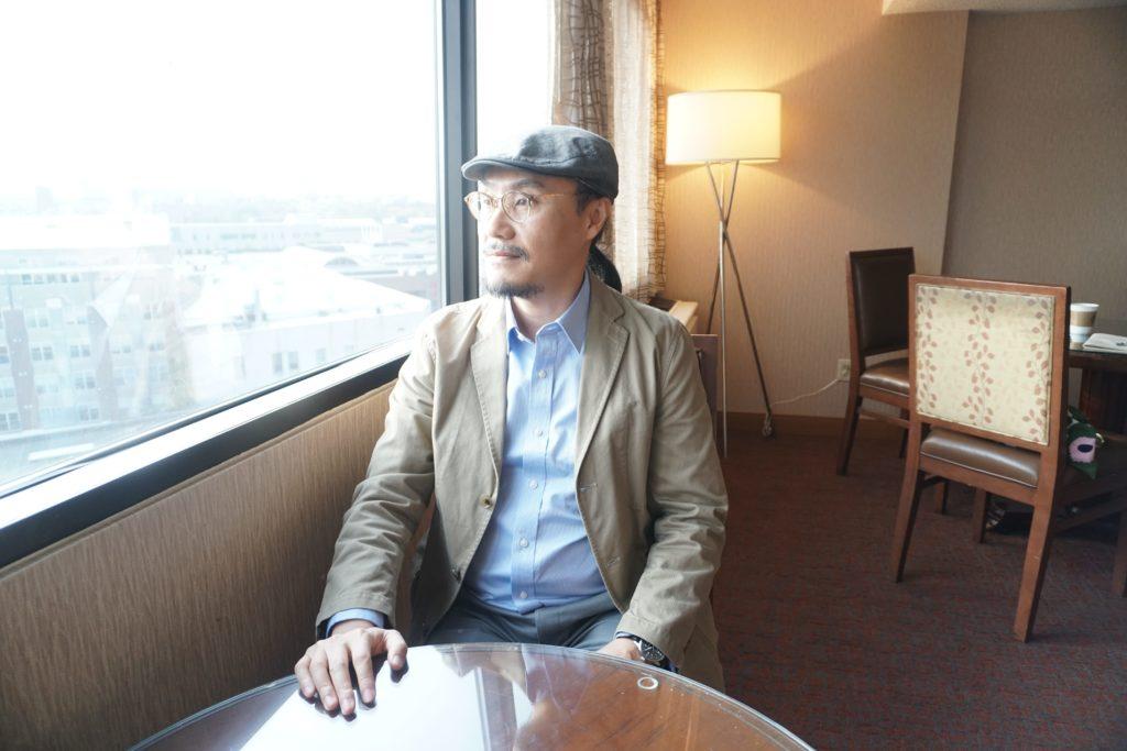 2009年參與IWP的香港作家董啟章