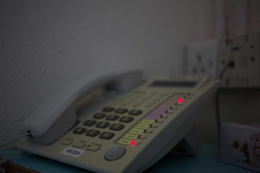 一通電話,有時候可能會帶來一線生機。