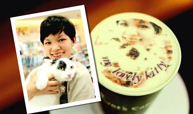 The Tea Terrace宣稱Selfieccino是全歐洲首創,不過早在2013年,台灣連鎖便利店FamilyMart已提出過selfie拉花概念,香港的Selfie Cafe亦於2016年開幕。
