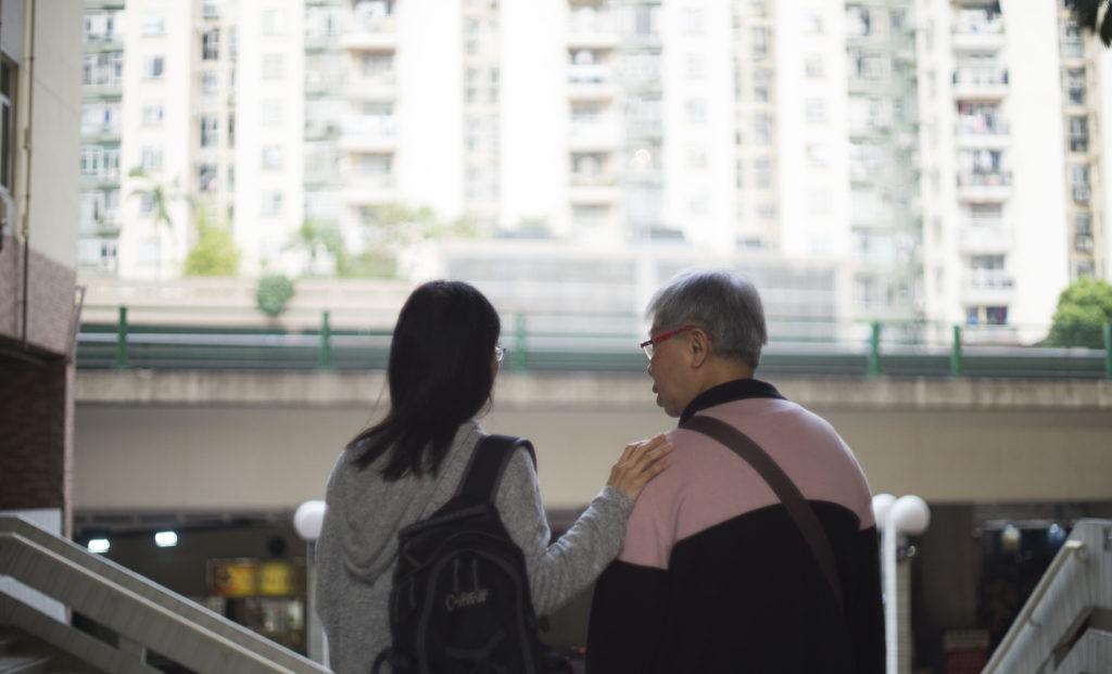 兩代照顧者,聽了不同長者的故事後,深深感到資源分配的不平等。