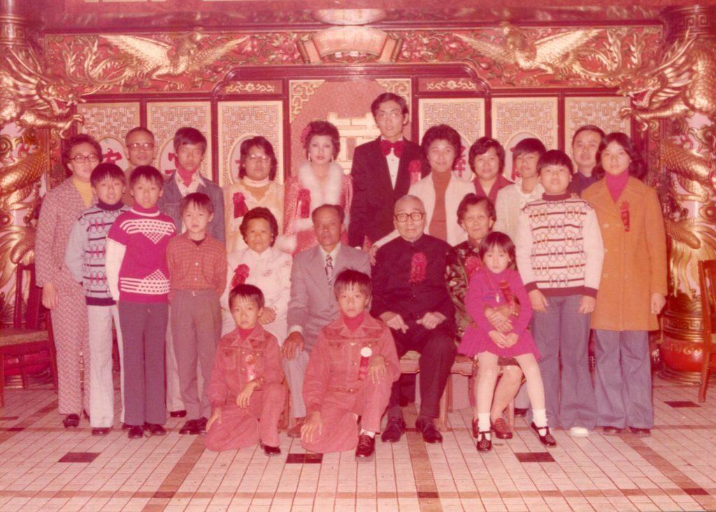 拍攝年份:1976年 地點:觀塘裕民坊建華酒樓 鳴謝:圖片由Siman Chu提供