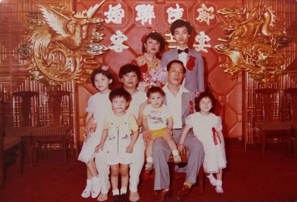 拍攝年份:1980年代 地點:深水埗迎賓酒樓 鳴謝:圖片由鄺太太提供