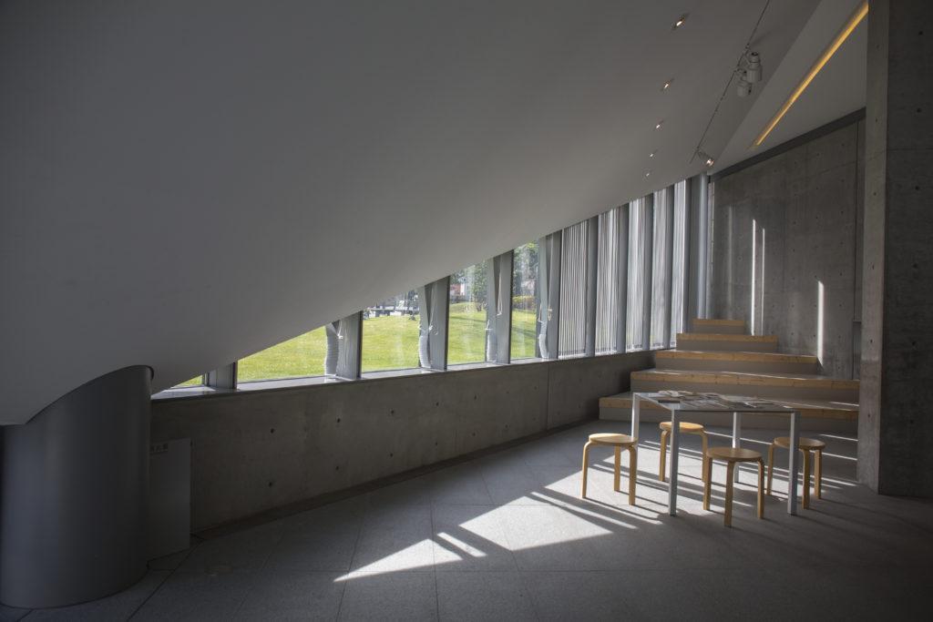 位於左側的倒三角形空間,最近改作Gallery 3,用來舉辦工作坊和分享會,以促進各界交流。