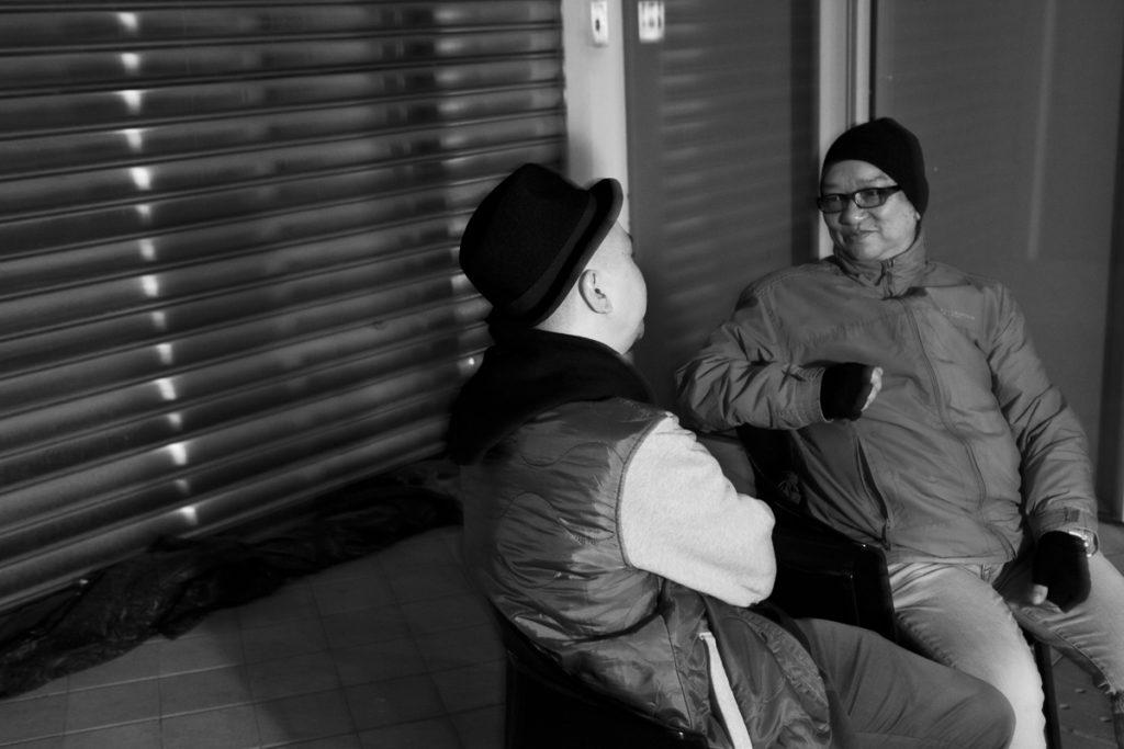 男哥(右)難忘九十年代帶子女一起入場看周星馳的日子。