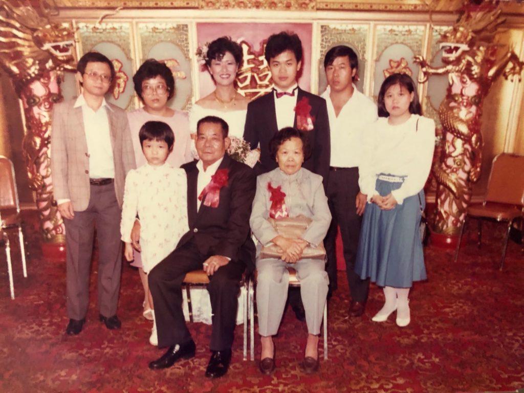 拍攝年份:約1980年代中 地點:不詳 鳴謝:圖片由Lisa Wu提供