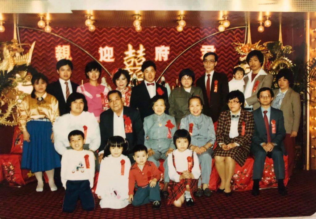 拍攝年份:約1980年代中 地點:灣仔榮華酒樓 鳴謝:圖片由Lisa Wu提供