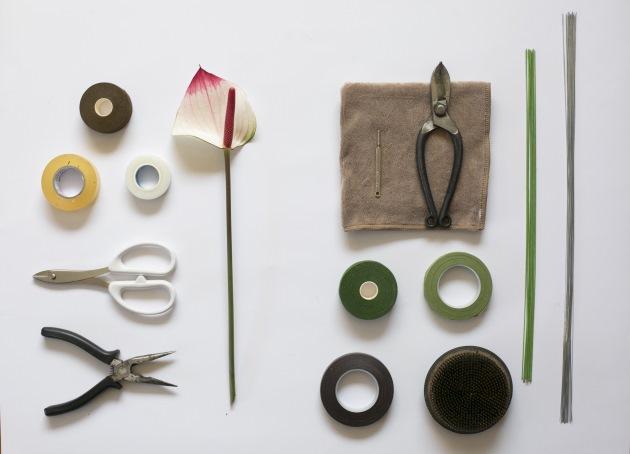 日本花道插花習花常用工具