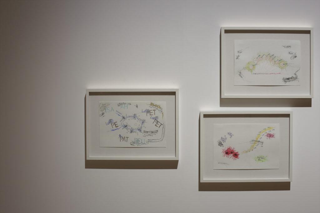 策展人之一的楊嘉輝分享了他的「音景寫生」(soundscape sketches)作品,此系列名稱為《Landschaft》。